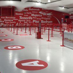 Antislip Treatment Airport Floor