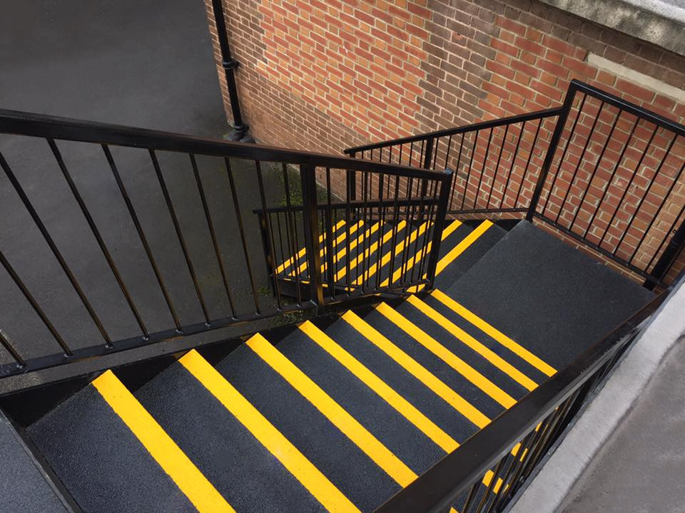 Antislip Fire Exit Covers